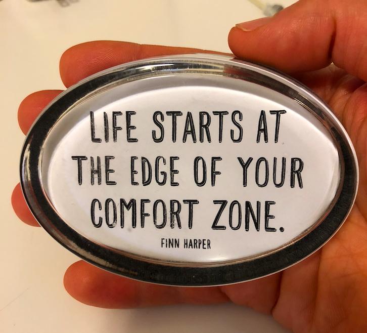 edge of comfort zone